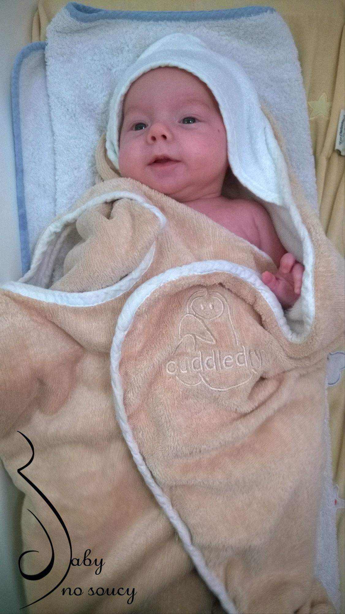 test serviette de bain cuddledry blog baby no soucy