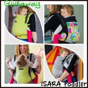 giveway-porte-bébé-isara-toddler