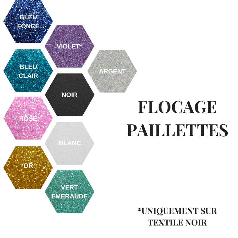 flockage paillettes 2020