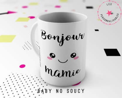 mug mamie baby no soucy