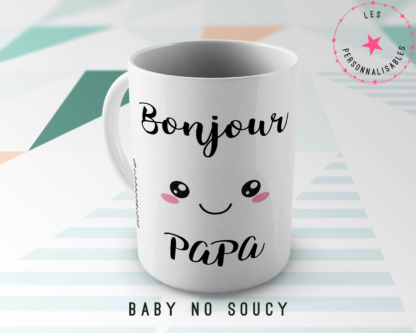 mug papa baby no soucy
