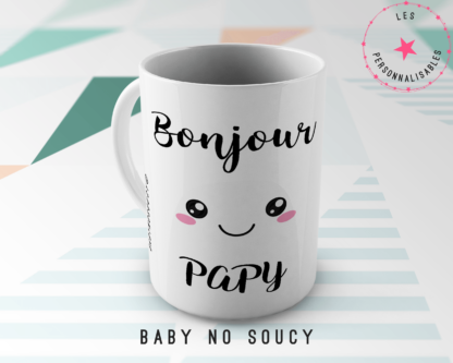 mug papy baby no soucy