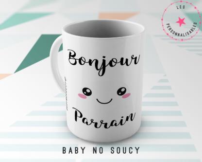 mug parrain baby no soucy
