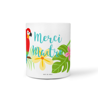mug cadeau maitre tropical baby no soucy