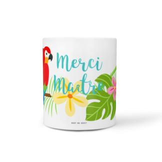mug cadeau maitre tropical baby no soucy