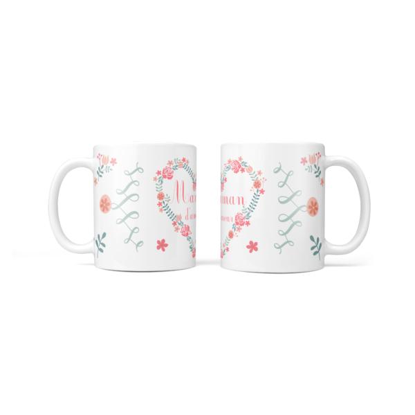 mug fleurs du coeur cadeau maman baby no soucy