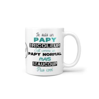 mug papy bricoleur baby no soucy