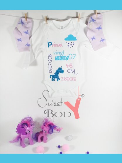 sweetybody licorne baby no soucy