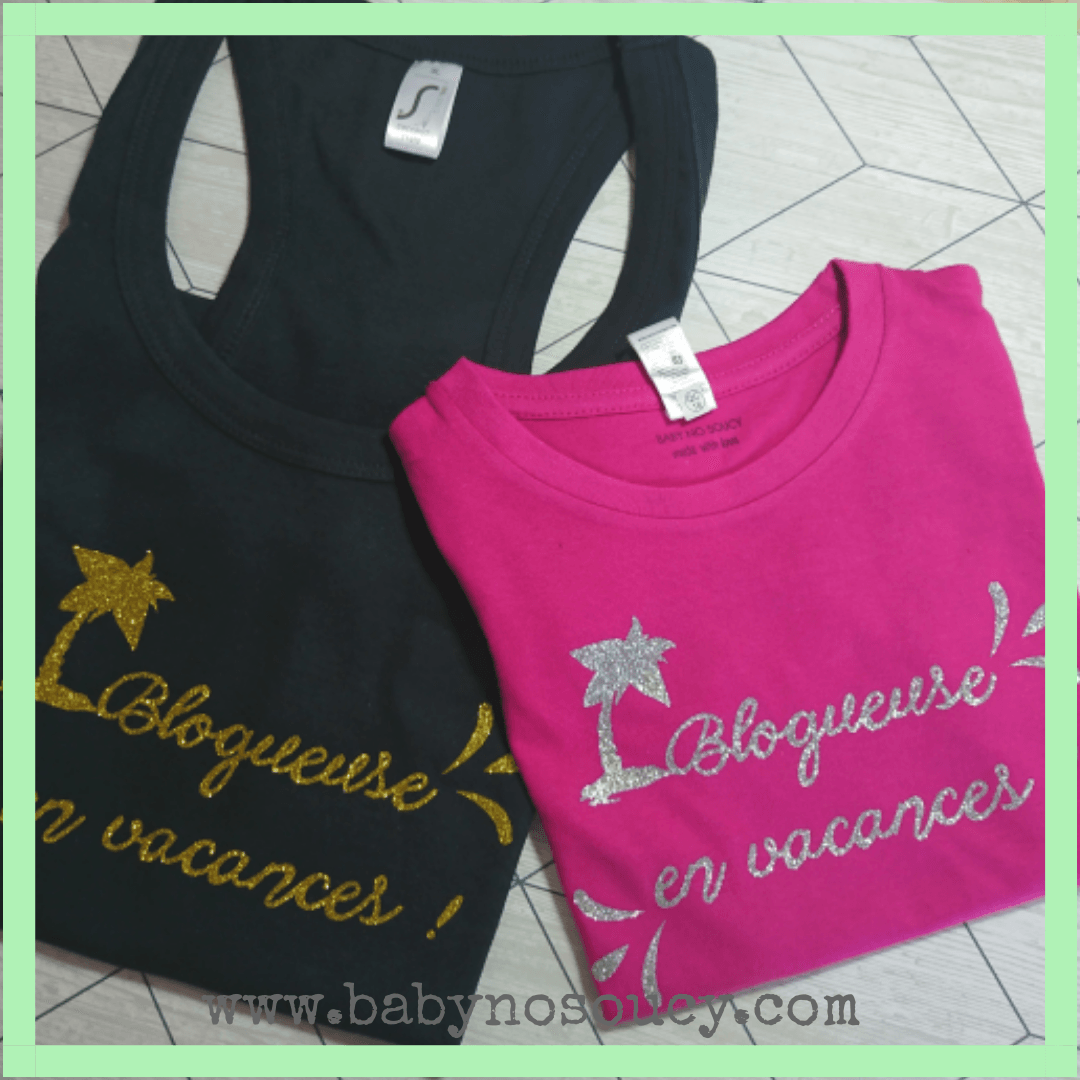 duo tee-shirts mère-fille