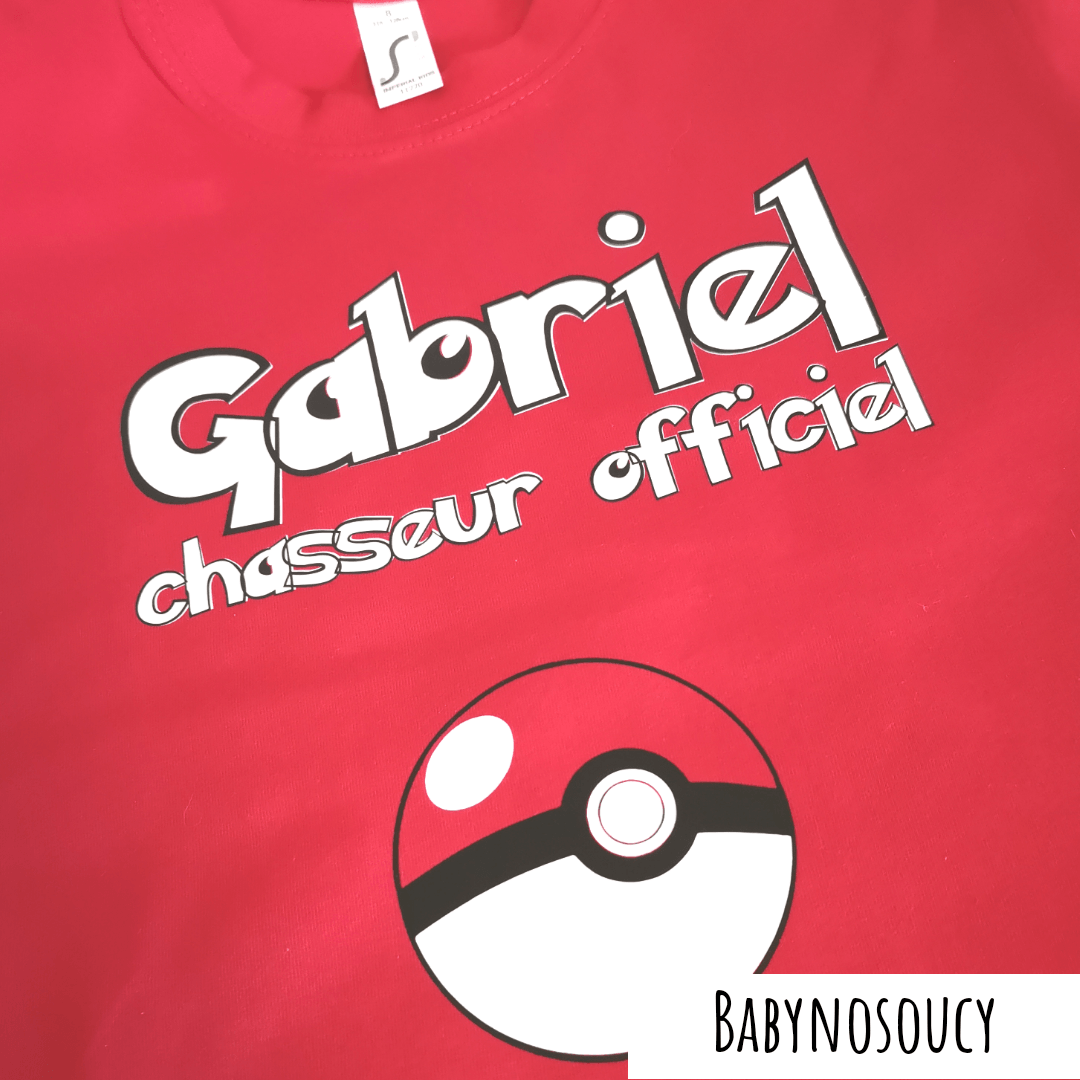tee-shirt enfant pokemon