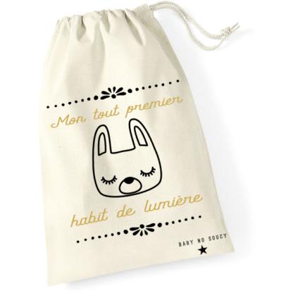 sac tenue de naissance lapin baby no soucy
