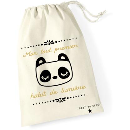 sac tenue naissance panda baby no soucy