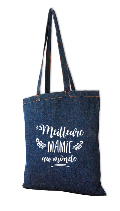 sac personnalisable mamie