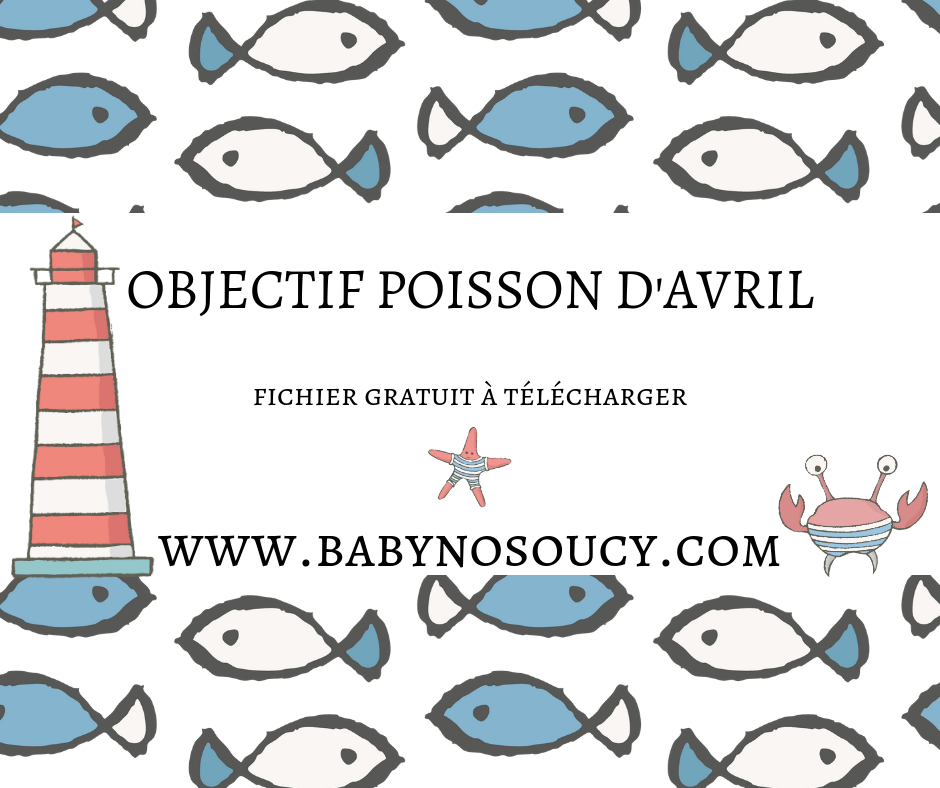 poisson d'avril à imprimer gratuit