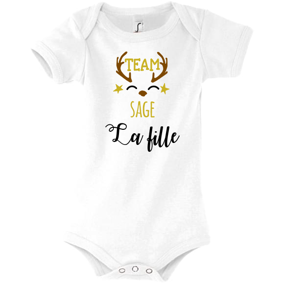 body famille sage personnalisable fille