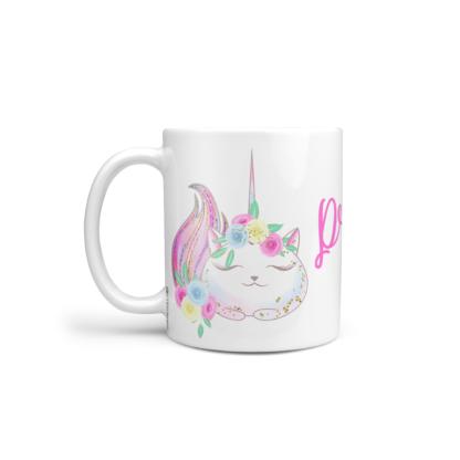 mug incassable personnalisable caticorn baby no soucy