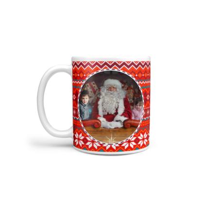 mug photo noel pull rouge 1 photo