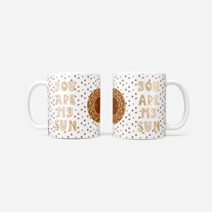 mug you are my sun design scandinave