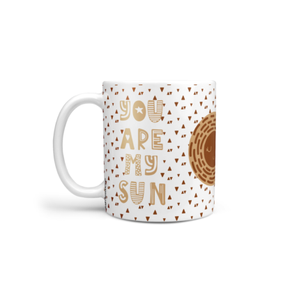 mug scandinave caramel