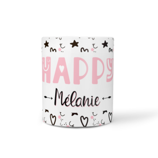 mug happy scandinave à personnaliser