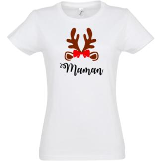 tee-shirt noel personnalisable femme