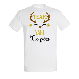 tee-shirt famille sage personnalisable homme