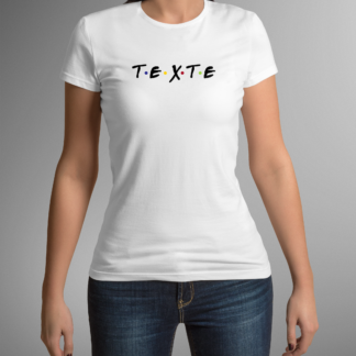 tee shirt friendly texte personnalisable