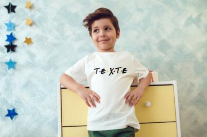 tee shirt enfant friends