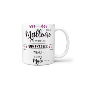 mug meilleure de toutes les maitresses vue 1